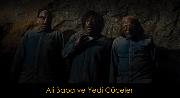 Ali Baba ve Yedi Cüceler