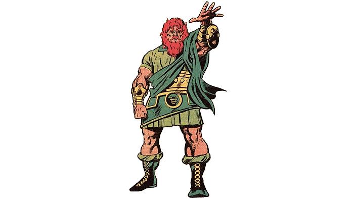en güçlü marvel karakterleri - zeus