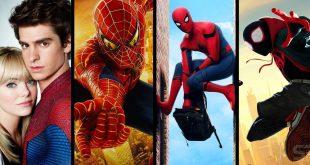 spider man filmleri