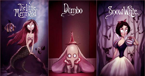 Tim Burton Disney filmleri