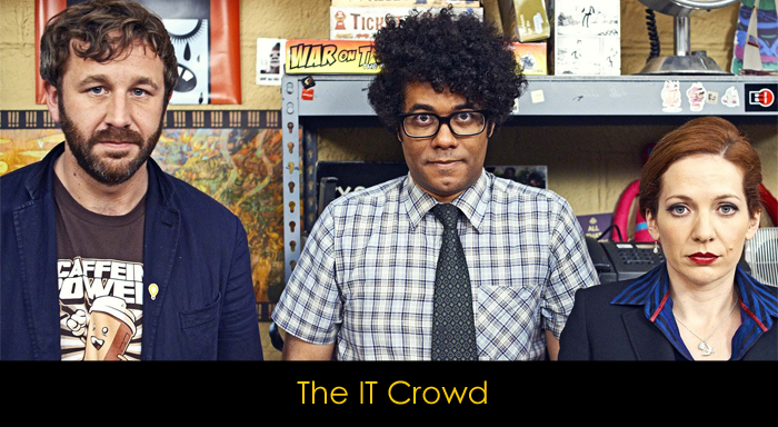 the IT Crowd dizi incelemesi