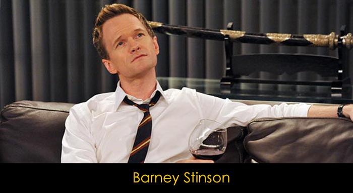 En iyi dizi karakterleri - Barney Stinson