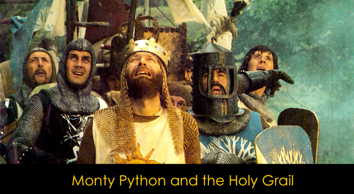 En iyi İngiliz komedi filmleri - Monthy Python and the Holy Grail