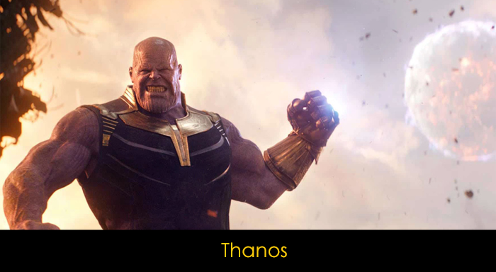 En İyi Marvel Villian'ları - Thanos