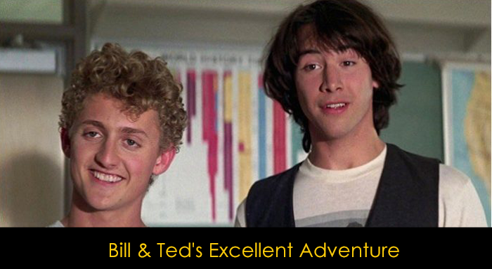 Keanu Reeves Filmleri - Bill and Ted's Excellent Adventures