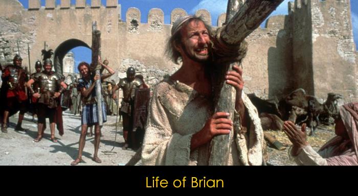 En iyi İngiliz komedi filmleri - Life of Brian