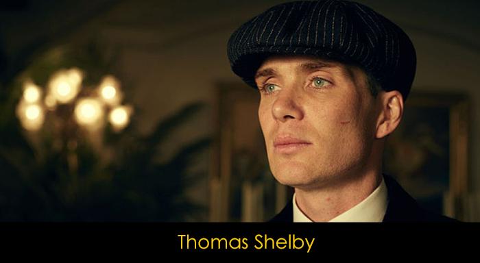 En iyi dizi karakterleri - Thomas Shelby