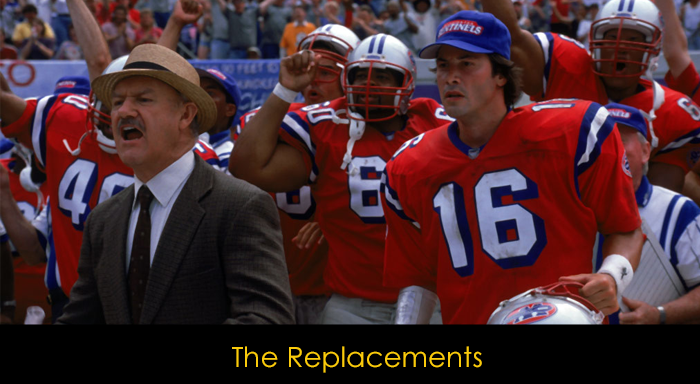Keanu Reeves Filmleri - The Replacement