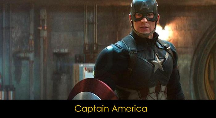 En iyi MCU karakterleri - Captain America