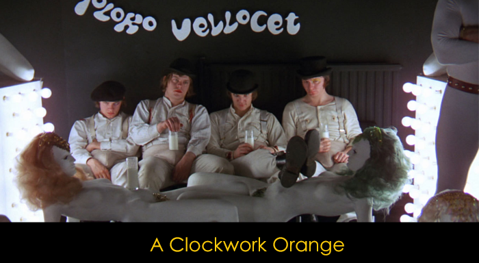 En iyi distopya filmleri - A Clockwork Orange