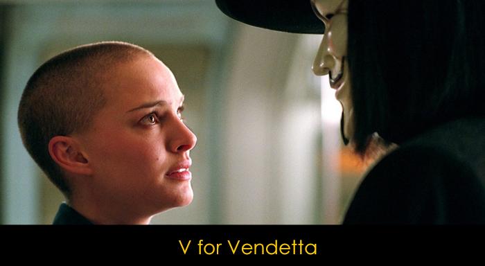 En iyi distopya filmleri - V for Vendetta