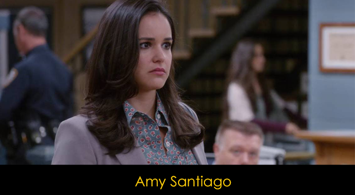 Brooklyn Nine Nine oyuncuları -  Amy Santiago