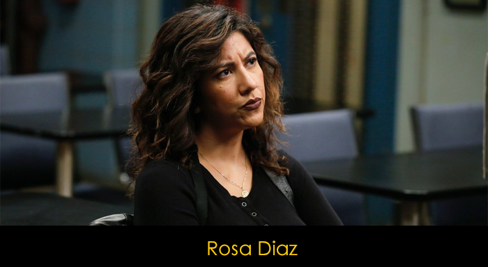 Brooklyn Nine Nine oyuncuları -  Rosa Diaz