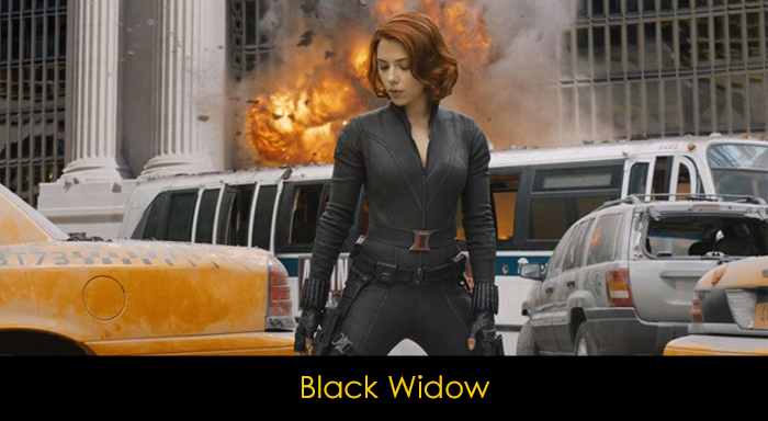 En iyi MCU karakterleri - Black Widow