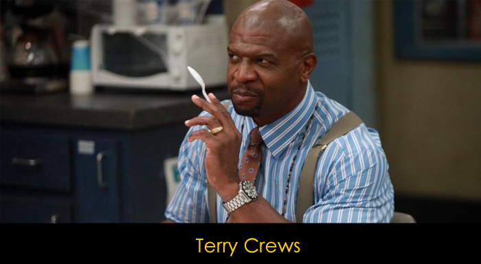 Brooklyn Nine Nine oyuncuları -  Terry Crews