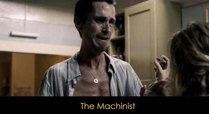 En iyi psikolojik filmler - The Machinist