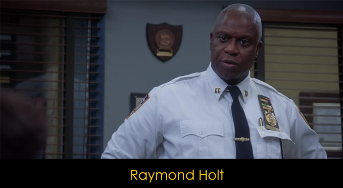 Brooklyn Nine Nine oyuncuları -  Raymond Holt