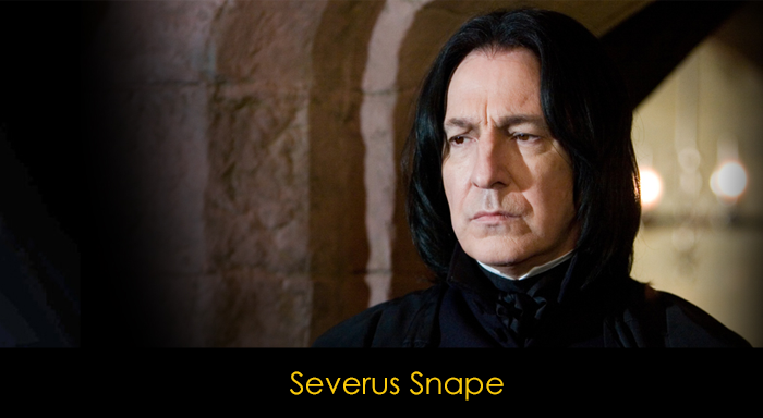 En İyi Harry Potter Karakterleri - Severus Snape