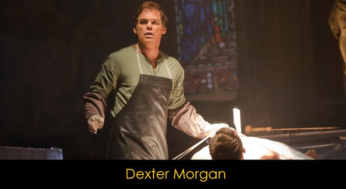 En iyi dizi karakterleri - Dexter Morgan