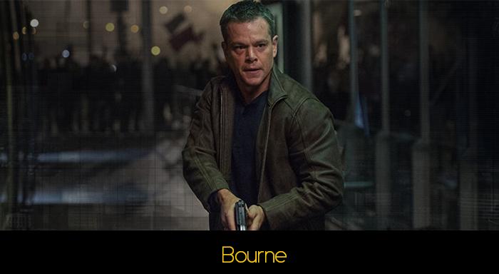 Matt Damon Filmleri - The Bourne Serisi