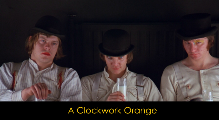 Psikolojik Filmler - A Clockwork Orange