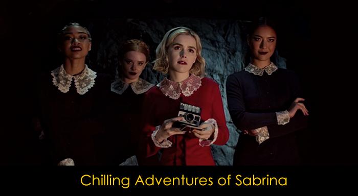Netflix Gençlik Dizileri - Chilling Adventures of Sabrina