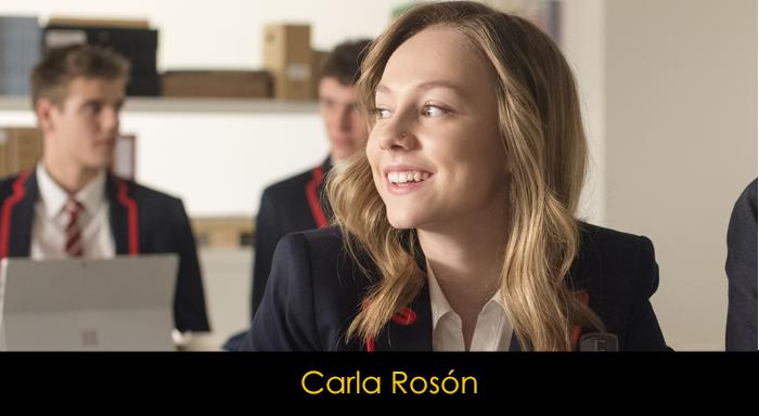 Elite dizisi oyuncuları - Carla