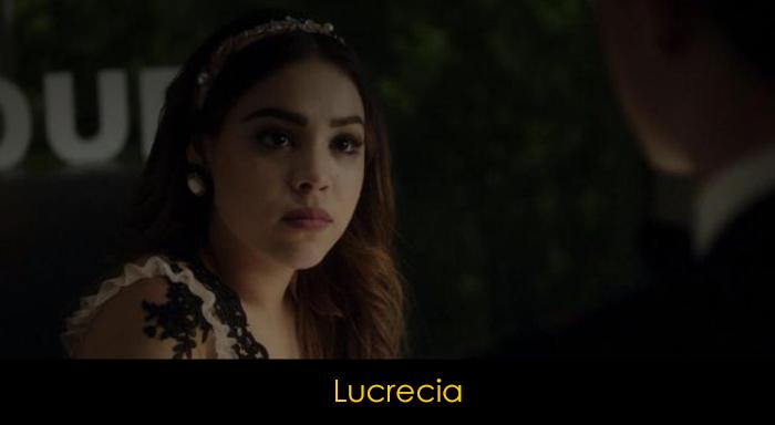 Elite dizisi oyuncuları - Lucrecia