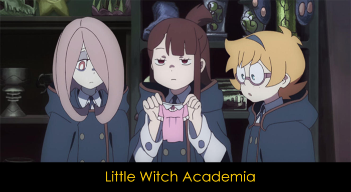 Netflix Animeleri - Little Witch Academia