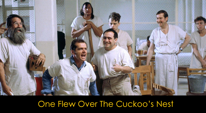 Psikolojik Filmler - One Flew Over The Cuckoo's Nest