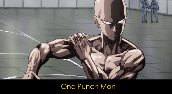 one punch man - anime önerisi