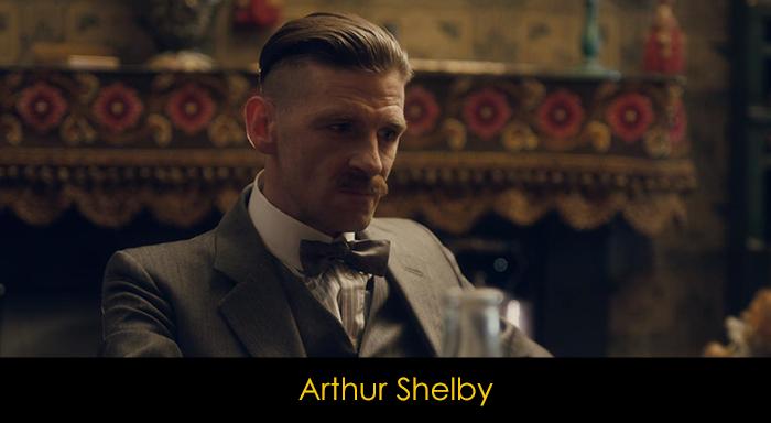 Peaky Blinders oyuncuları - Arthur Shelby