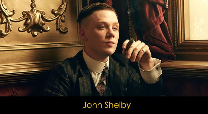 Peaky Blinders oyuncuları - John Shelby
