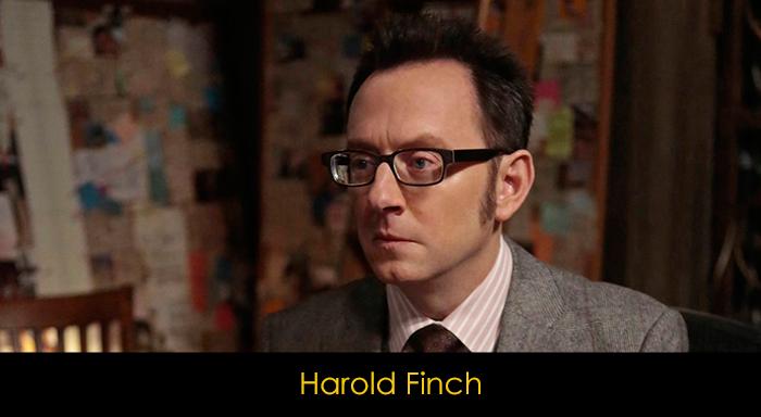Person of Interest oyuncuları - Finch