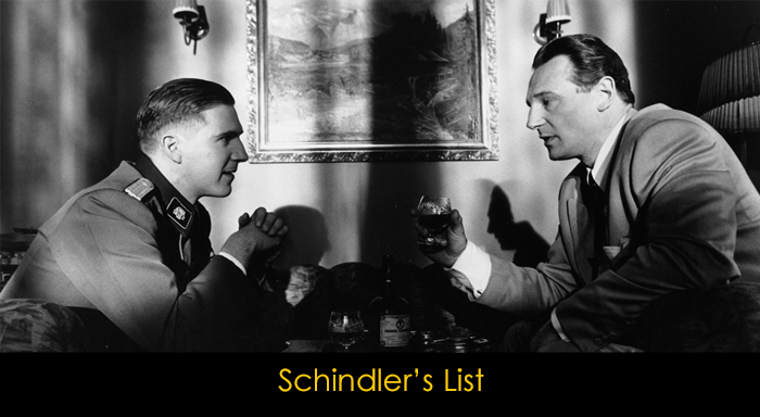 Irkçılık temasını işleyen filmler - Schindler's List