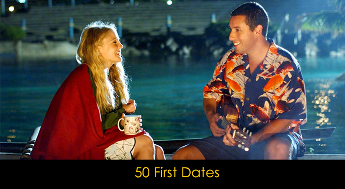 En İyi Adam Sandler Filmleri - 50 First Dates