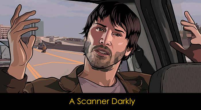 Keanu Reeves Filmleri - A Scanner Darkly
