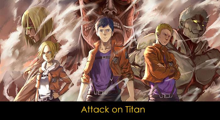 En iyi 20 anime - Attack on Titan