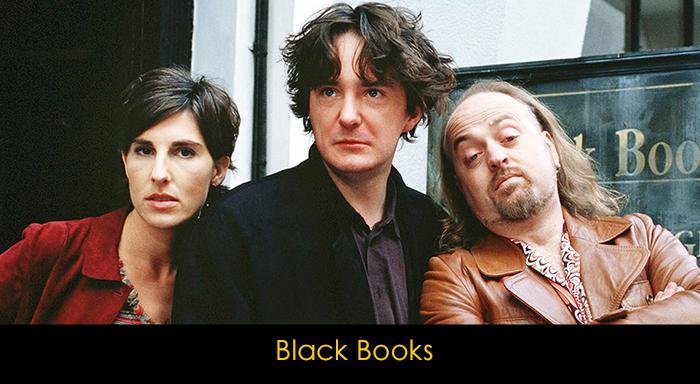 yemek yerken izlenebilecek diziler - Black Books