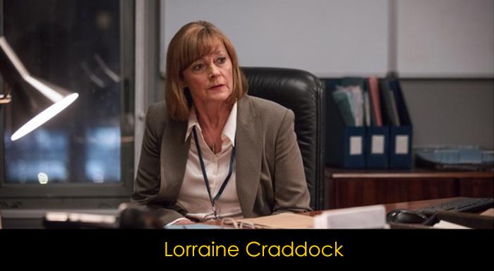 Bodyguard dizisi oyuncuları - Larraine Craddock