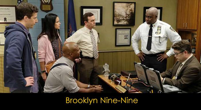 yemek yerken izlenebilecek diziler - Brooklyn nine nine