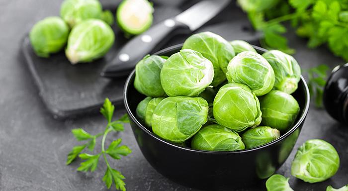 Düşük kalorili sebzeler - Brüksel Lahanası
