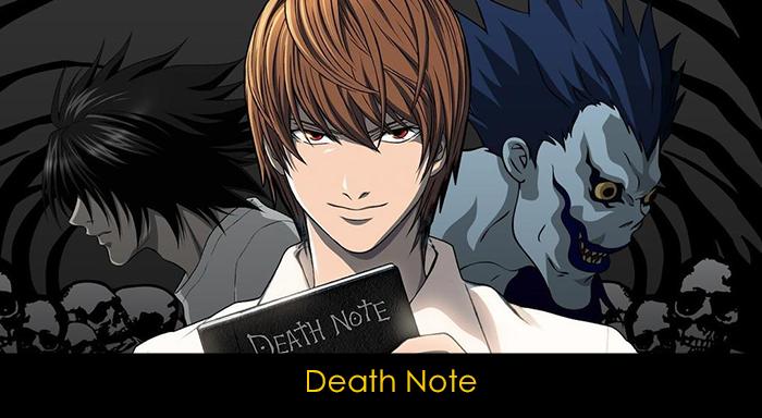 En iyi 20 anime - Death Note