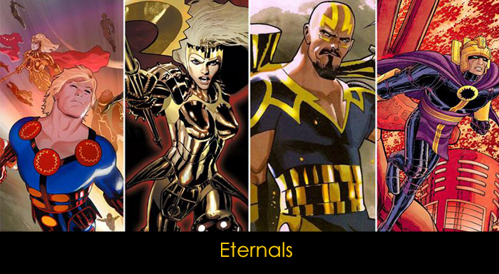 Marvel filmleri vizyon tarihi - Eternals