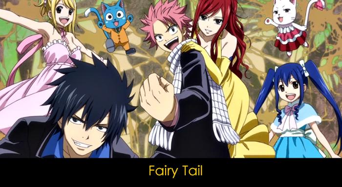 En iyi 20 anime - Fairy Tail