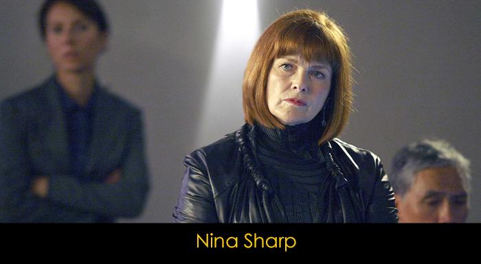 Fringe dizisi oyuncuları - Nina Sharp