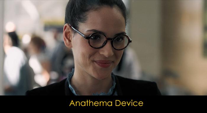 Good Omens oyuncuları - Anathema Device