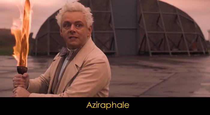 Good Omens oyuncuları - Aziraphale