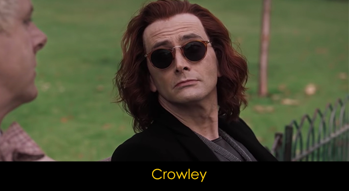 Good Omens oyuncuları - Crowley
