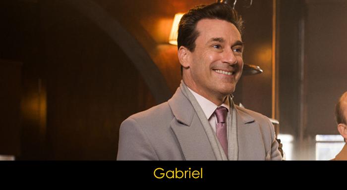 Good Omens oyuncuları - Gabriel